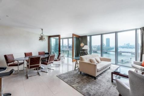 The Tower, 1 St George Wharf. 3 bedroom flat