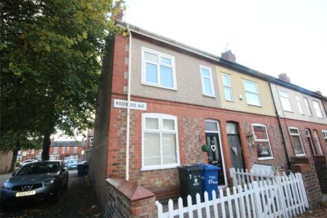 Rosewood Avenue, Warrington, WA1. 2 bedroom end of terrace house