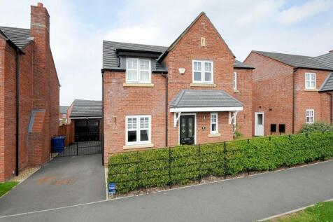 Commander Drive, Paddington, Warrington, WA1. 4 bedroom detached house for sale