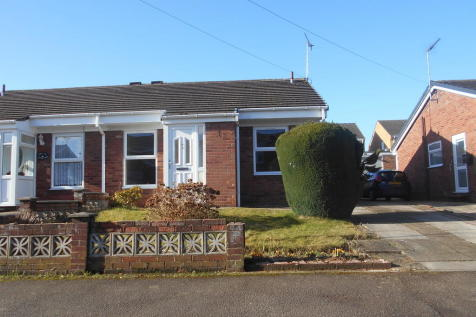 Kestrel Drive, Eckington. 2 bedroom semi-detached bungalow