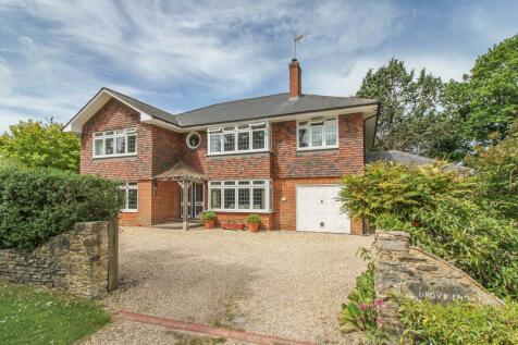 Top Green, Lockerley, Romsey, Hampshire SO51. 5 bedroom detached house