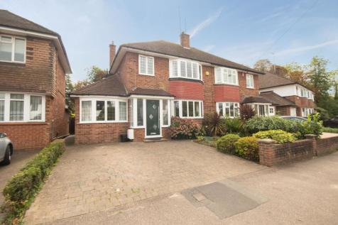West End Lane, Pinner, Middlesex HA5. 4 bedroom semi-detached house
