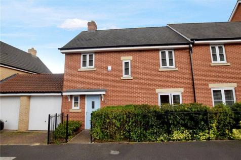 Saw Mill Road, Colchester, Essex. 3 bedroom semi-detached house