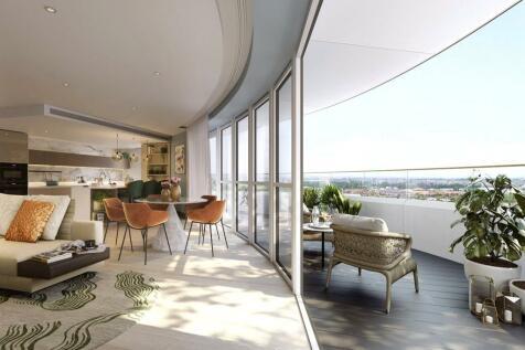 Cassini Tower, White City Living, London, W12. 3 bedroom apartment