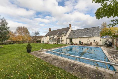 Dyers Lane, Bathpool, Taunton. 7 bedroom detached house for sale