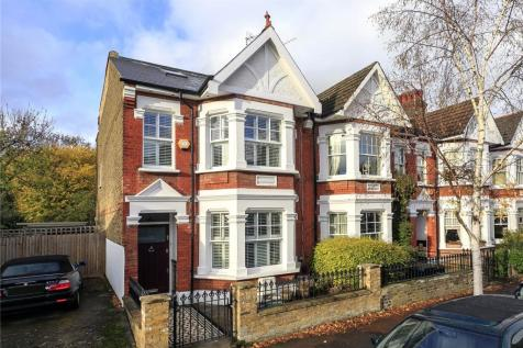 Ruskin Avenue, Richmond, TW9. 5 bedroom end of terrace house for sale