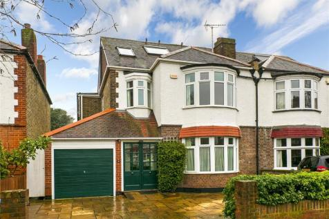 Nylands Avenue, Kew, Surrey, TW9. 4 bedroom semi-detached house for sale