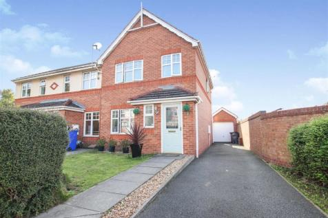 Bullrushes Close, Etruria, Stoke-On-Trent. 3 bedroom town house