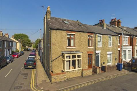 Mawson Road, Cambridge, CB1. 4 bedroom end of terrace house for sale