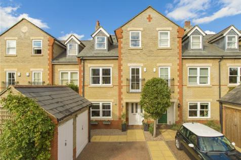 St Barnabas Court, Cambridge, CB1. 5 bedroom terraced house for sale
