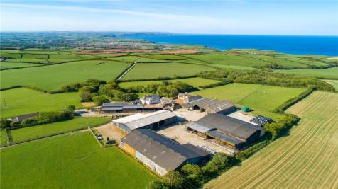 Scadghill Farm, Stibb, Bude, Cornwall, EX23. Detached house
