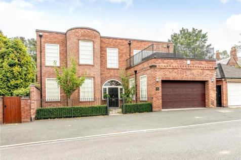 Huntingdon Drive, The Park, Nottingham, NG7. 5 bedroom detached house for sale