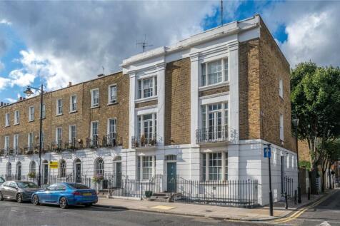 Theberton Street, London, N1. 4 bedroom end of terrace house