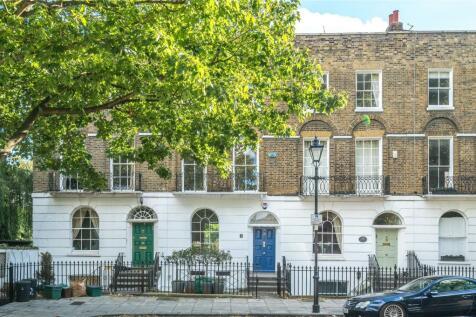 Cloudesley Square, Islington, London, N1. 4 bedroom terraced house