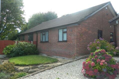 7 Vicarage Close, Bottom Road, LL11. 2 bedroom semi-detached bungalow