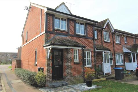 Payton Drive, Burgess Hill. 3 bedroom end of terrace house