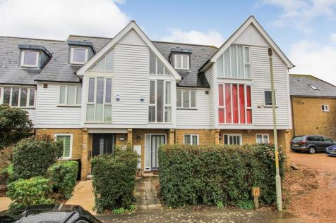 Saxon Shore, Island Wall, Whitstable. 3 bedroom terraced house for sale
