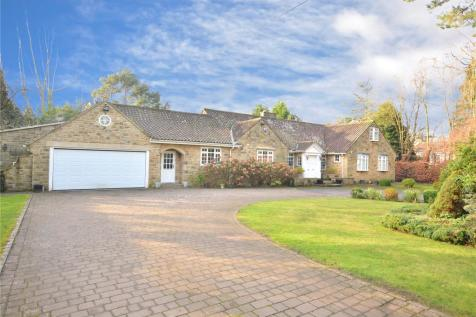 Three Gables, Manor House Lane, Alwoodley, Leeds. 4 bedroom bungalow for sale