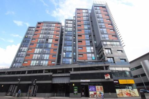 RIVER HEIGHTS, GLASGOW, G3 8JF. 2 bedroom flat