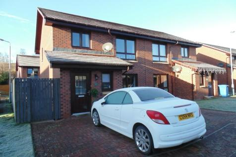 Charleston Place, Alexandria, Dunbartonshire, G83. 3 bedroom semi-detached house for sale
