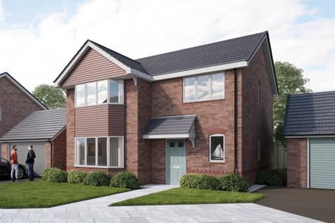 Llay New Road, Llay, Wrexham. 4 bedroom detached house