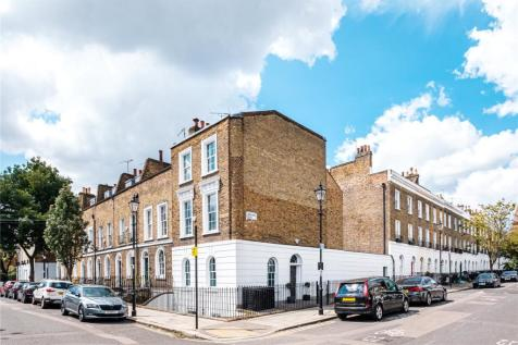 Gerrard Road, London, N1. 4 bedroom end of terrace house