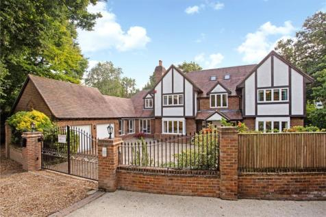 Burleigh Road, Ascot, Berkshire, SL5. 5 bedroom detached house for sale