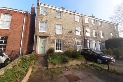 Grove Road, Norwich. 4 bedroom end of terrace house for sale