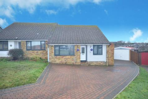 Esher Close, Seaford. 2 bedroom semi-detached bungalow for sale