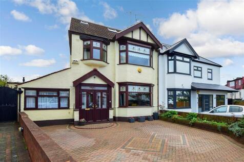 Edwina Gardens, Redbridge, Essex. 5 bedroom semi-detached house for sale