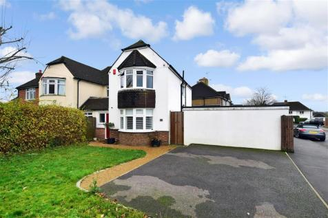 Royston Road, Bearsted, Maidstone, Kent. 3 bedroom semi-detached house for sale