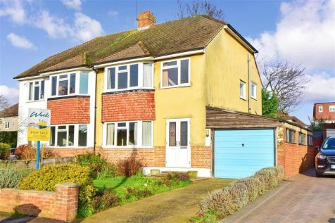 Copsewood Way, Bearsted, Maidstone, Kent. 3 bedroom semi-detached house for sale