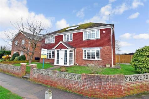 Pilgrims Way, Canterbury, Kent. 4 bedroom detached house