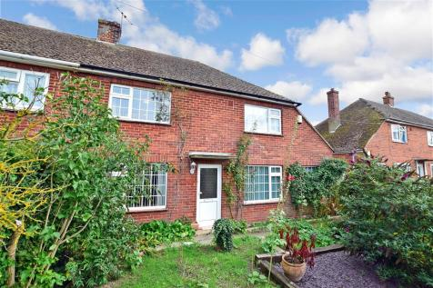 Staple Road, Wingham, Canterbury, Kent. 3 bedroom semi-detached house