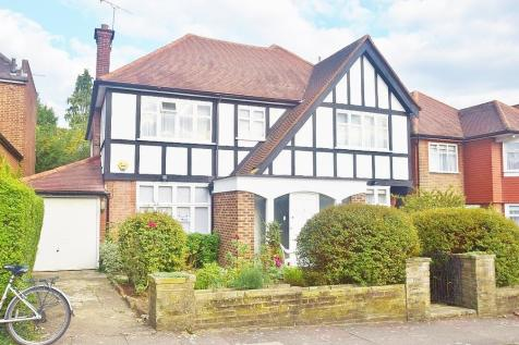 PARK WAY, GOLDERS GREEN, NW11. 5 bedroom detached house for sale
