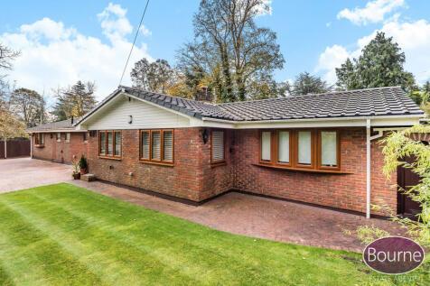 Barrs Lane, Woking. 4 bedroom detached bungalow for sale
