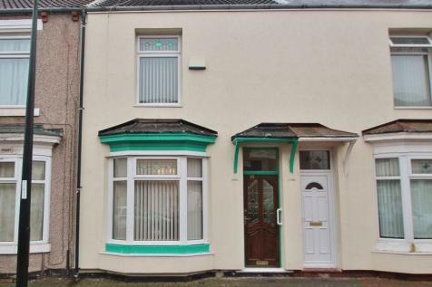 Warwick Street, Middlesbrough. 3 bedroom terraced house for sale
