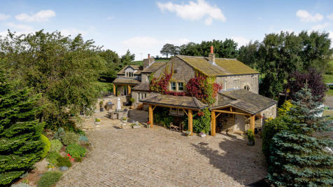 Lane End Barn, Roydhouse, Shelley. 5 bedroom detached house for sale