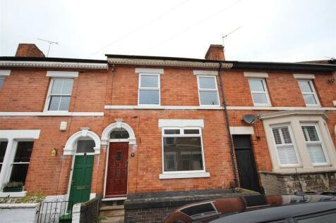 West Avenue, Derby, Derbyshire, DE1 3HR. 4 bedroom terraced house for sale