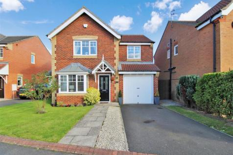Faldo Drive, Ashington. 4 bedroom detached house for sale