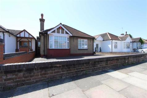 Ash Grove, Bush Hill Park, Middlesex. 2 bedroom detached bungalow