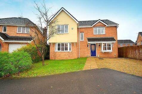 Terry's Way, Llanharan, Pontyclun. 4 bedroom detached house for sale