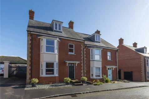 Dunstan Street, Sherborne, Dorset, DT9. 3 bedroom semi-detached house