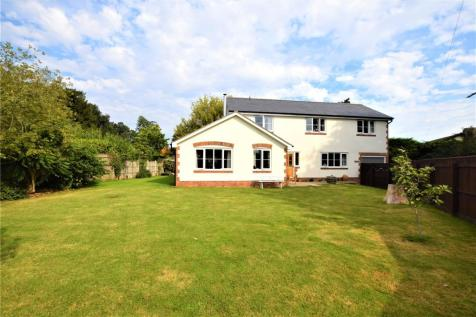 Trull, Taunton, Somerset, TA3. 4 bedroom detached house for sale