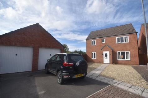 Meadowlands Avenue, Bridgwater, Somerset, TA6. 4 bedroom detached house for sale