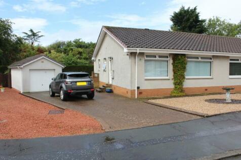 Bunting Place, Kilmarnock, Ayrshire, KA1. 2 bedroom semi-detached bungalow
