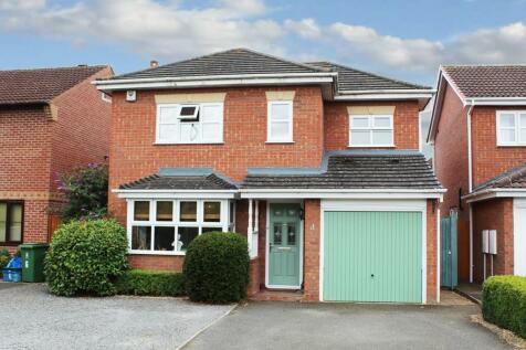 Cunningham Way, Shrewsbury, SY1 3SR. 4 bedroom detached house