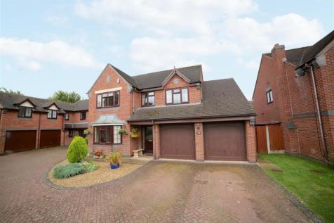 Goldcrest Grove, Apley, Telford, TF1 6TA. 4 bedroom detached house
