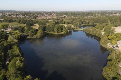The Wharf at Water's Edge, Mytchett Road, Nr Camberley, Surrey, GU16 6AF. 2 bedroom flat for sale