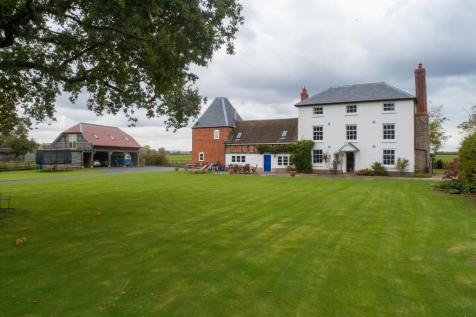 The Meadows, Preston Wynne, Hereford, Herefordshire, HR1 3PA. 6 bedroom detached house for sale